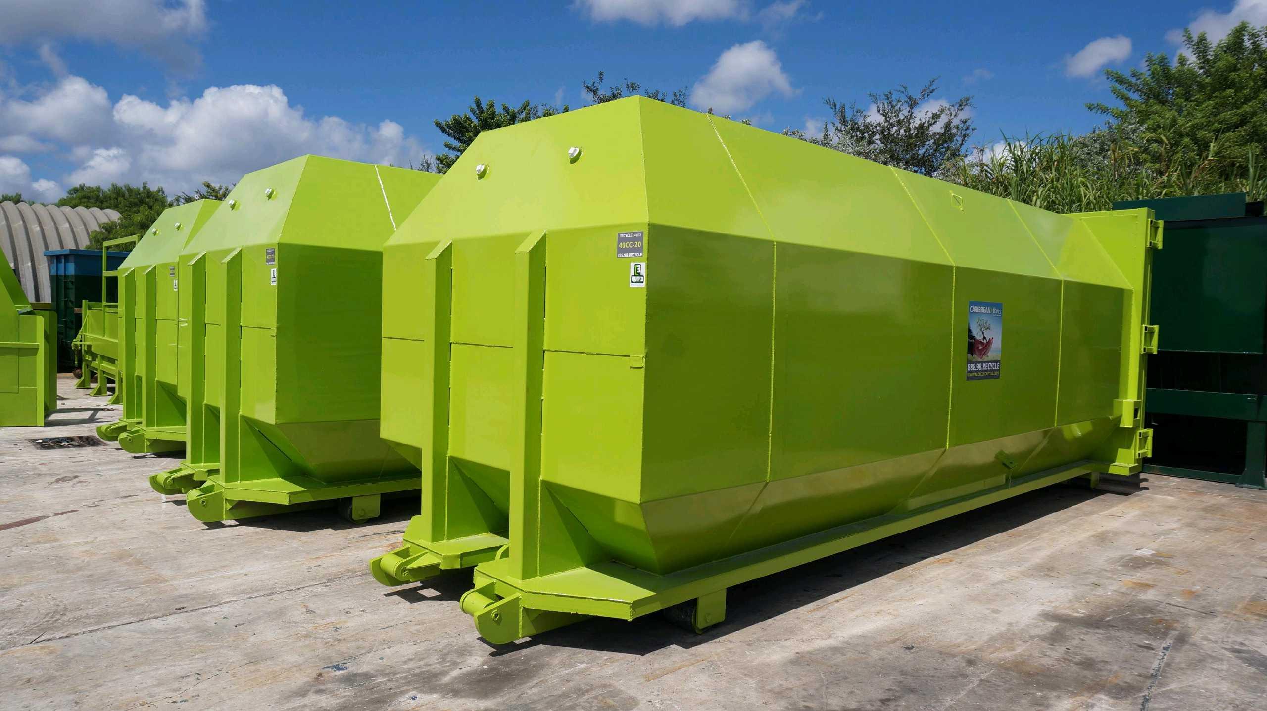 commercial trash compactor rental