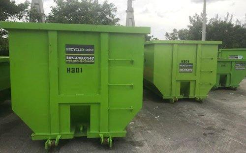 concrete wash out dumpster rental