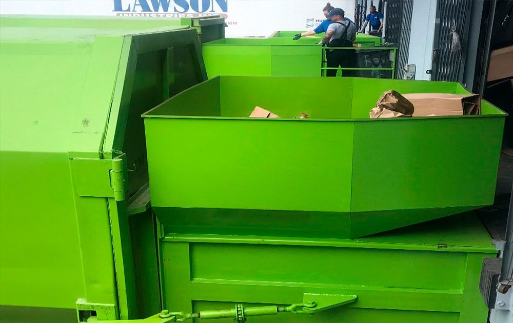 commercial waste compactor