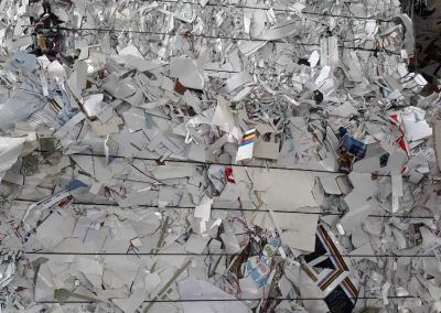 can shredded paper be recycled
