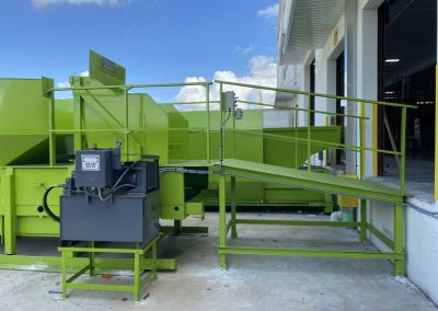 cardboard and plastic recycling balers