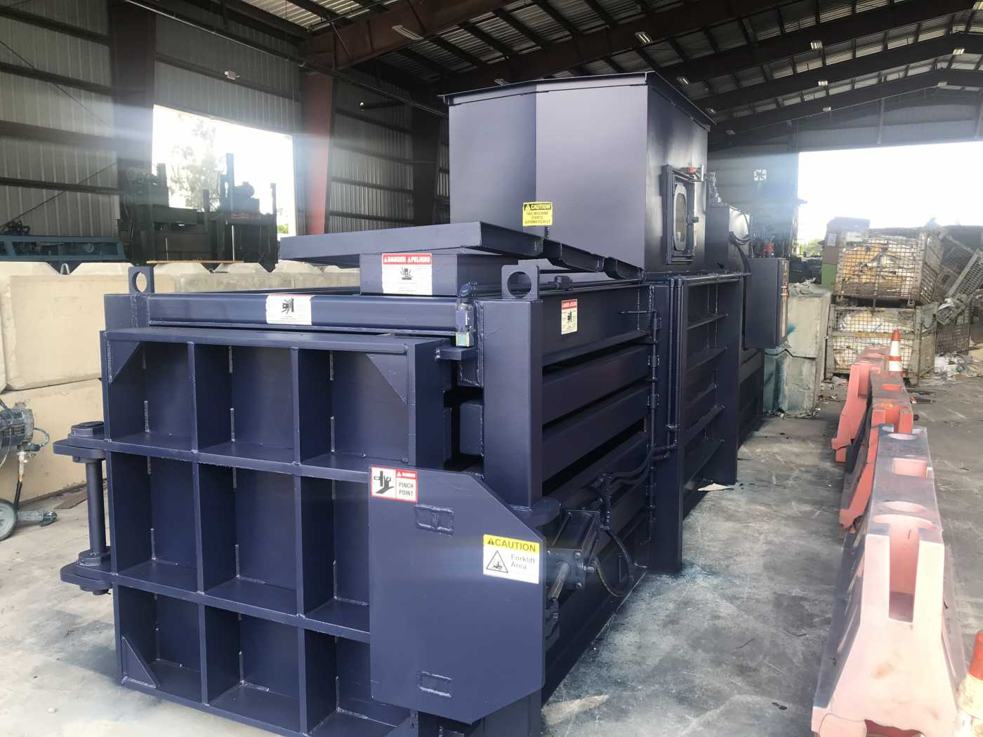 horizontal recycling balers for sale