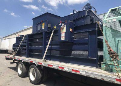 commercial dumpster hauling