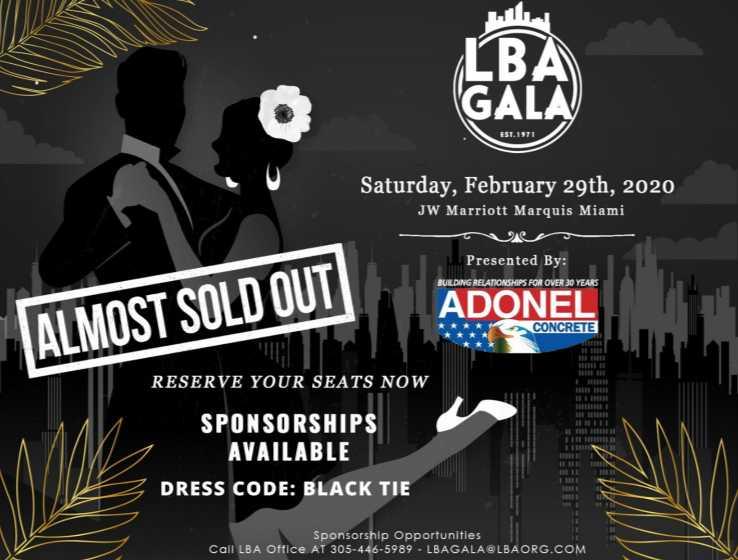 Latin Builders Association President's Gala