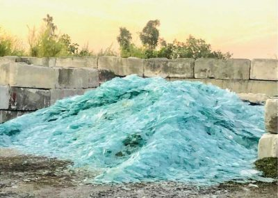 glass recycling processing plant miami
