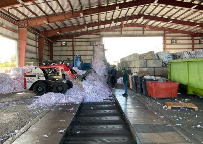 shredded paper recycling services