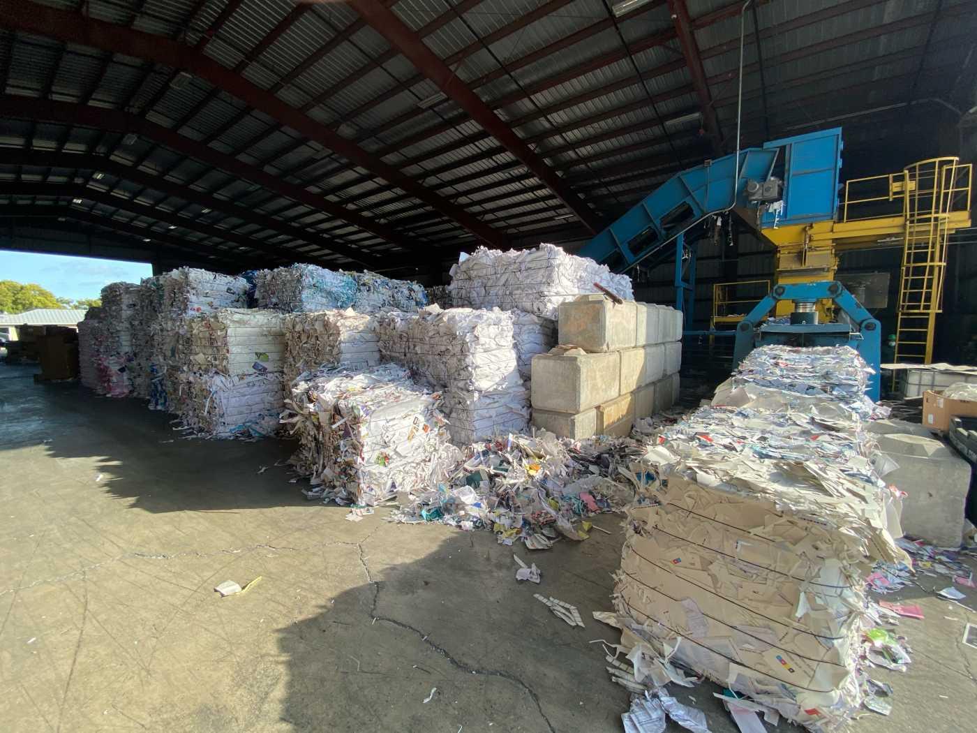 fiber recycling for cardboard