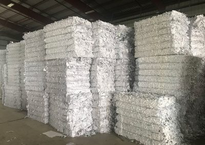 industrial paper recycling process