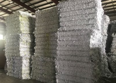 shredded paper recycling company